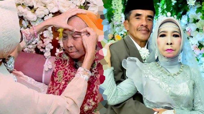 Kisah Nenek Perawan Yang Menikah Di Usia 56 Tahun Viral Karena Didandan Jadi Pengantin Cantik Tribun Manado