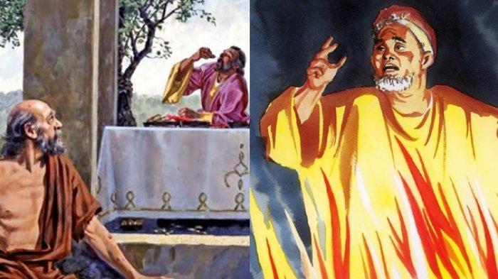 Kisah Lazarus Miskin dan Si Kaya, Berbeda Nasib Saat di Alam Lain, Si Sombong Teriak Minta Tolong