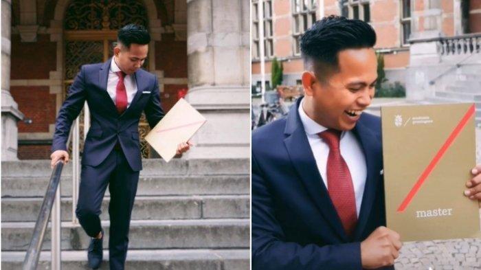 Alfaz sukses lulus kuliah S2 di Belanda