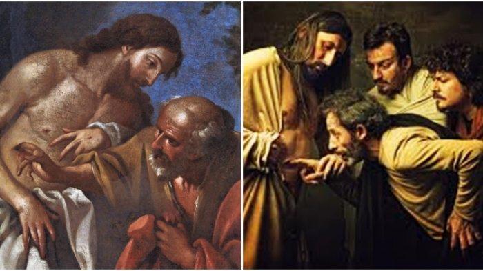 Sosok Tomas, Murid yang Tak Percaya Yesus Telah Bangkit : Sekali-kali Aku Tidak Akan Percaya