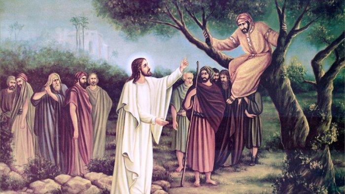 Kisah Zakheus, Si Pendek Pemungut Cukai yang Bertobat Usai Turun dari Pohon Ara