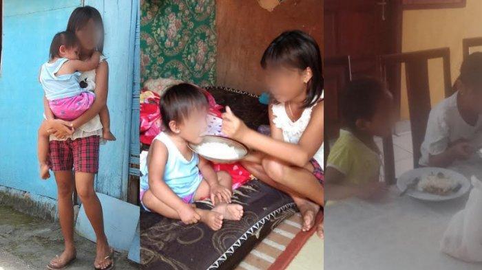 KisahGadis 13 Tahun Merawat 2 Adiknya di Manado: Memasak, Obati Adik Sakit hingga Ingin Jadi Guru