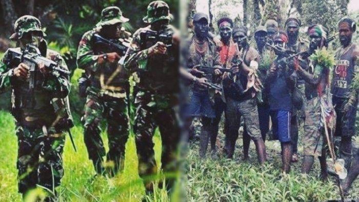 Tim Gabungan TNI Diserang KKB Egianus Kogoya, Kontak Senjata Selama 30 Menit, 3 Prajurit Tertembak