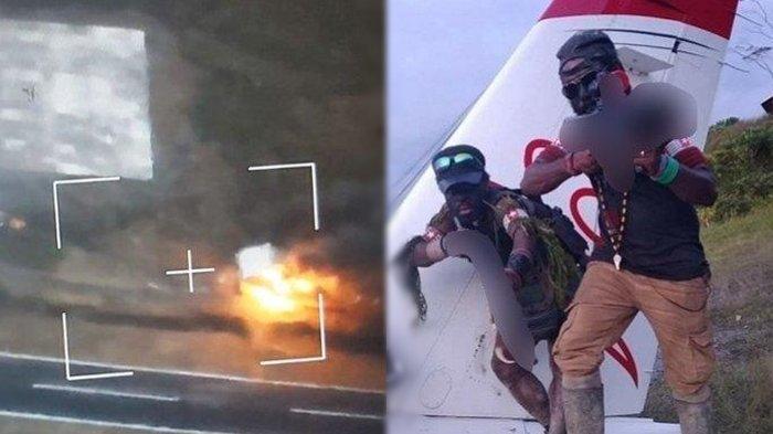 Setelah Bunuh Warga, KKB Papua Bakar Tower Bandara dan Perumahan, Sampai Tunggu Kedatangan TNI-Polri
