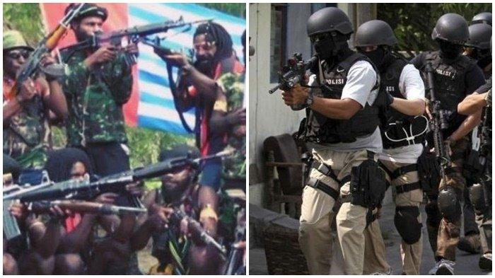 Teroris KKB Papua Makin Brutal, Densus 88 Belum Diturunkan, Masih Fokus Selesaikan Kasus Munarman Cs