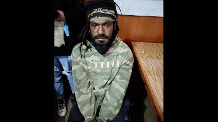 OsiminWenda, anggota KKBPapua yang berhasil ditangkap SatgasNemangkawi pada Kamis (22/7/2021) kemarin.