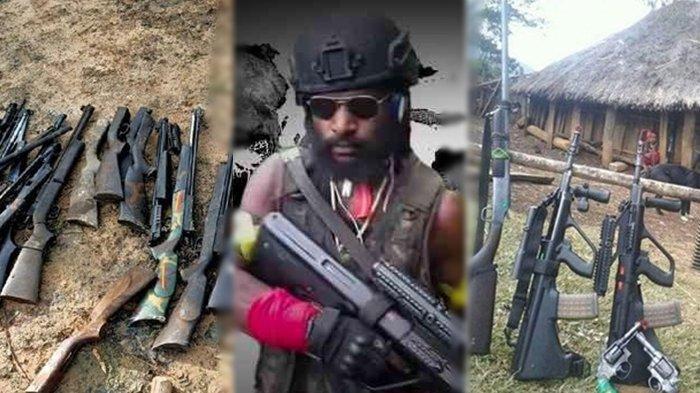 Siap Perang dengan TNI/Polri, KKB Papua Siapkan 5 Jenis Senjata Andalan,Ada Steyr AUG hingga SS1 V1