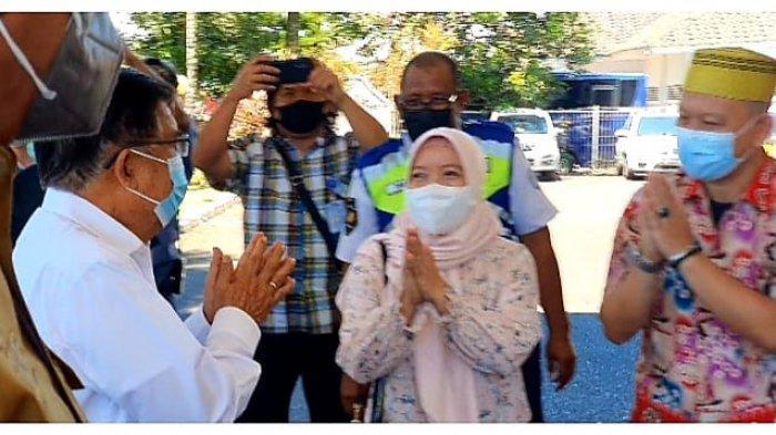 KKSS Mapanget Sambut Kedatangan Jusuf Kalla di Kota Manado