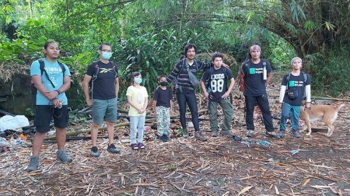 Bocah Berusia Sembilan Tahun Asal Jakarta Taklukkan Gunung Klabat