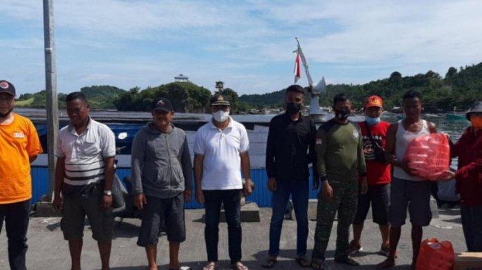 Sempat Hanyut, KM Tiga Putri Berhasil Dievakuasi di Pelabuhan Belang Mitra