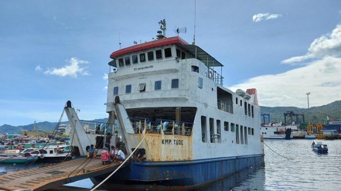Kapal Feri KMP Tude Bitung-Lembeh Tak Beroperasi Sementara, PD Bangun Bitung Siapkan Alternatif