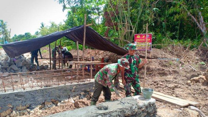 Kodam XIII Merdeka Kawal Pelaksanaan TMMD di Talaud