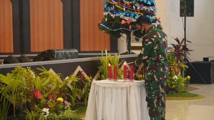 Kodam XIII/Merdeka Gelar Perayaan Natal, Ini Pesan Pangdam Mayjen TNI Santos Matondang