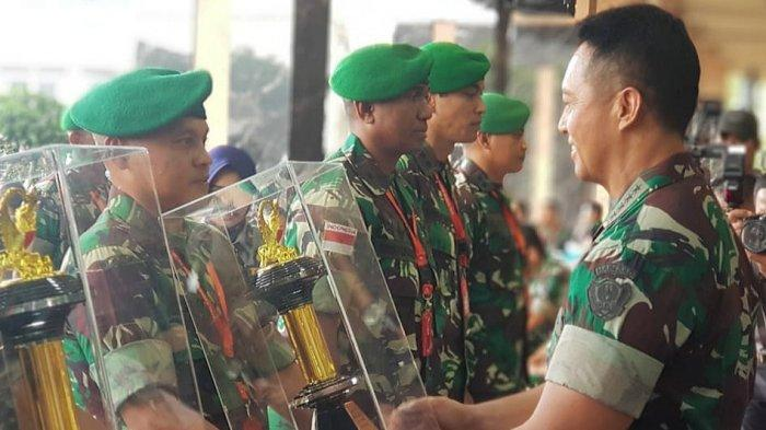 Kodim 1303/BM Sabet Juara 3 Lomba Binter TNI AD 2019