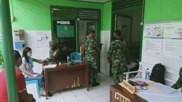 333 Purnawirawan TNI dan Persit Kodim 1303/Bolmong Terima Vaksin