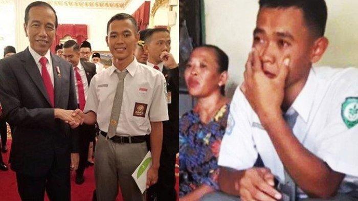 Dicoret dari Anggota Paskibraka, Koko Ardiansyah Bertemu Jokowi & Dapat Tugas Spesial untuk Negara