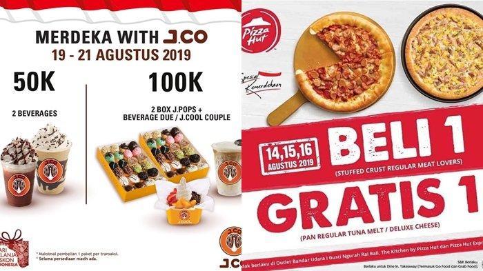 Daftar Promo Kuliner Semarak Hari Kemerdekaan 17 Agustus Mcd Pizza Hut Hingga Burger King Halaman All Tribun Manado