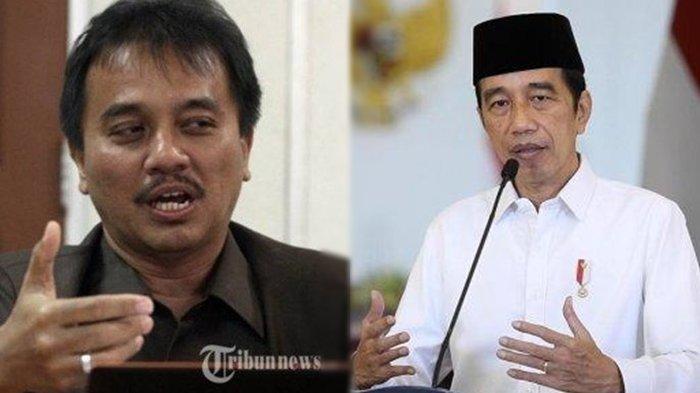 VIDEO Jokowi Sebut Provinsi Padang Viral, Roy Suryo Kutip Perkataan Ustaz Yusuf Mansur: Sudah, sudah