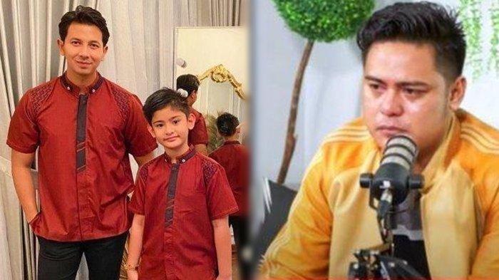 Galih Ginanjar Menangis Minta Maaf ke King Faaz, Ungkap Keinginan Untuk Liburan Bersama sang Anak