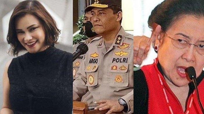 3 Berita Populer Hari ini, Megawati Singgung Ibukota Baru, Mabes Polri dan Kabar Tracy Trinita