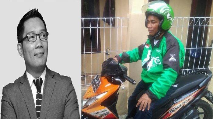 Ingin Bertemu Pak Nanda, ternyata Seperti Ini Sosok Driver Gojek yang Dicari-cari Ridwan Kamil