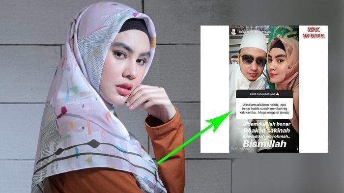 Kartika Putri Ungkapkan Ini, Saat Disebut Jadi Istri Kedua Habib Usman
