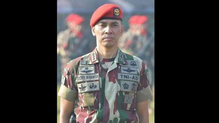 Masih Ingat Kolonel Lucky Avianto? Kopassus Lulusan Terbaik Kini Tugas di Papua, Kariernya Mentereng