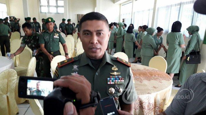 Komandan Korem (Danrem) 131 Santiago, Brigjen TNI Joseph Robert Giri SIP MSi