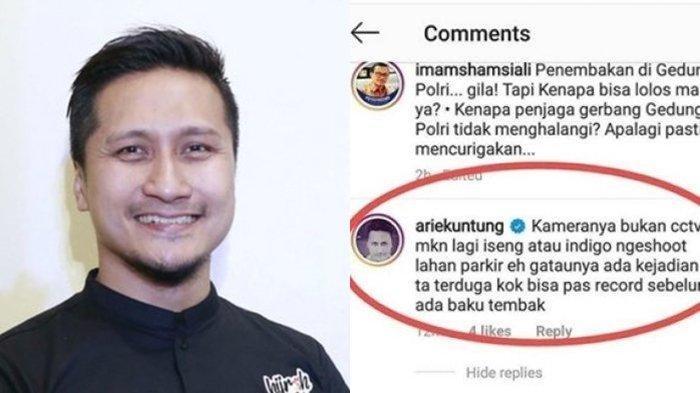 Arie Untung Komentari soal Teror di Mabes Polri: Kok, Bisa Pas Record Sebelum Ada Baku Tembak