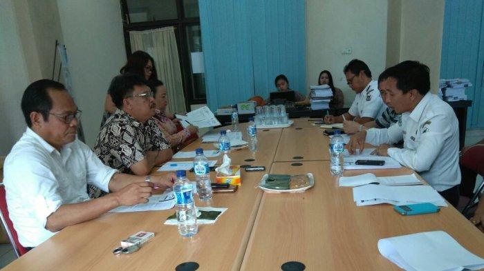 Komisi II DPRD Tomohon Bersama Dinas Perhubungan Bahas Angkutan Online