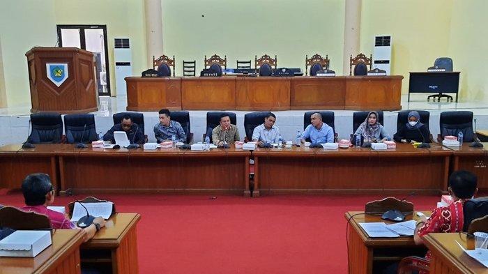 DPRD Bolmong Gelar RDP Dengan BPBD dan Dinas Pertanian Dalam Sehari