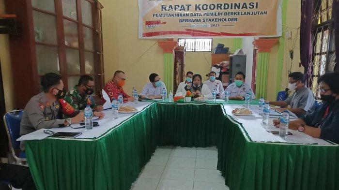 KPU Bolmong Gelar Rakor Pemutahiran Data Pemilih Berkelanjutan