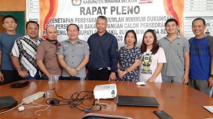 KPU Minsel Tetapkan FDW-PYR Bupati dan Wabup Terpilih Tanggal 21 Januari