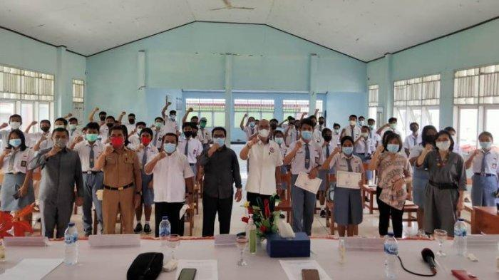 Laksanakan Literasi Media, KPID Sulut Sasar Generasi Muda di Talaud