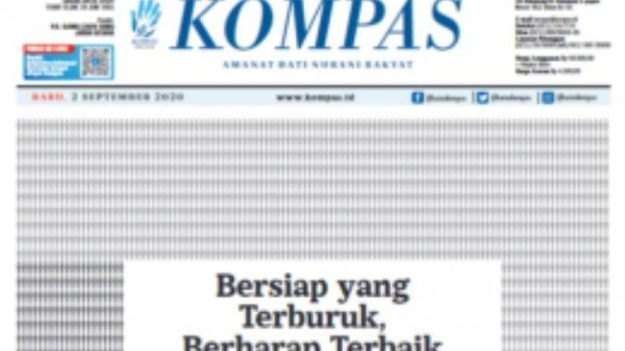 Kompas edisi 2 September 2020