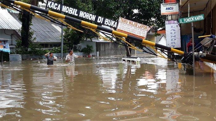 SITUASI Jakarta Hari Ini Rabu 26 Februari 2020, Masih Ada Wilayah Yang Tergenang Air