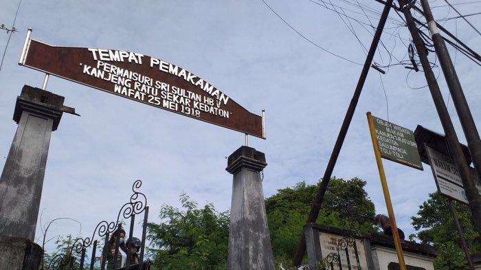 Kompleks Makam Kanjeng Ratu Sekar Kedaton, Wenang, yang juga cagar budaya di Kota Manado.