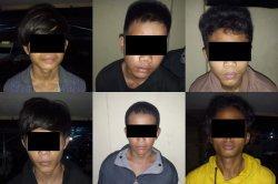 Lakukan Curanmor di Minahasa, Enam Pemuda Manado Ditangkap Tim Maleo Polda Sulut