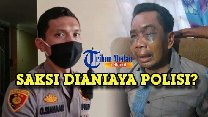 Kompol Otniel Siahaan dan saksi kasus pembunuhan Sarpan