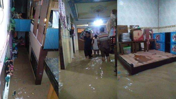 Banjir Sudah Sampai Betis di Dalam Rumah, Irfan Memilih Tidak Mengungsi