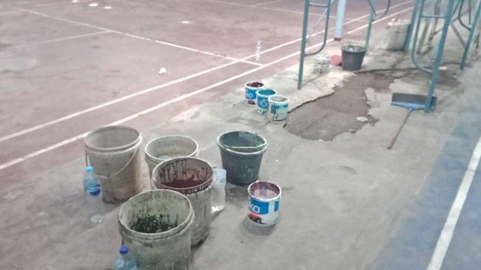 Kondisi Tempat Latihan Masa Kecil Greysia Polii dan Lilyana Natsir di Manado