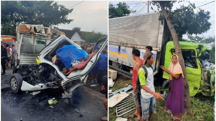 Kecelakaan Minggu Sore, Sopir Tewas di Tempat, Gagal Nyalip hingga Truk dan Pikap Tabrakan Maut