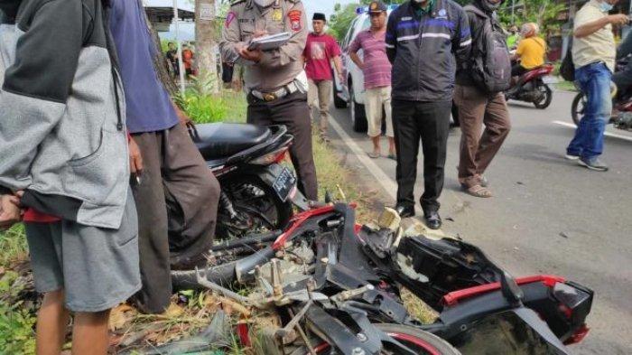 Kecelakaan Maut, Remaja Pemotor Vixion Tewas, Korban Tabrakan dengan Motor Lain saat Melambung