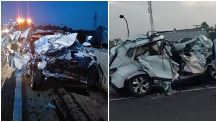 Kecelakaan Maut Tadi Pagi Pukul 05.35 WIB, Satu Orang Dikabarkan Tewas, Mobil Menabrak Belakang Truk