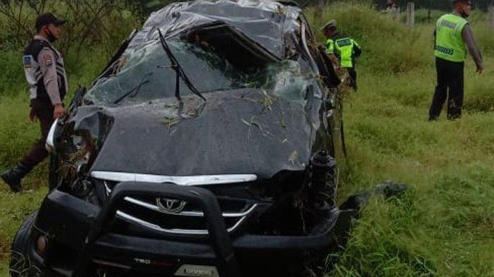 Kecelakaan Maut Tadi Pagi, Satu Keluarga Tewas Sepulang Ziarah, Diduga Ngantuk Hingga Terhempas