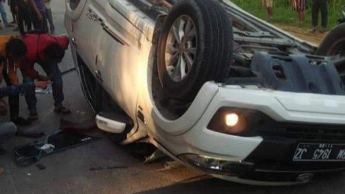 Kecelakaan Maut Tadi Pagi Pukul 06.40 WIB, Seorang Wanita Tewas di Tempat, Motor Ditabrak Mobil
