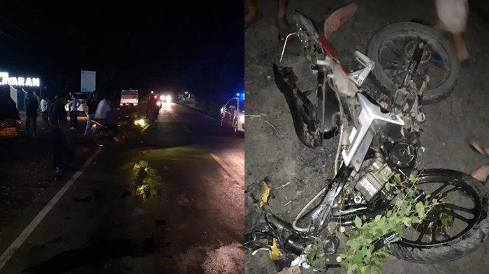 Kecelakaan Maut di Jalan Trans Kabupaten Minsel, Denny Meninggal Setelah Tabrak Mobil Pick Up