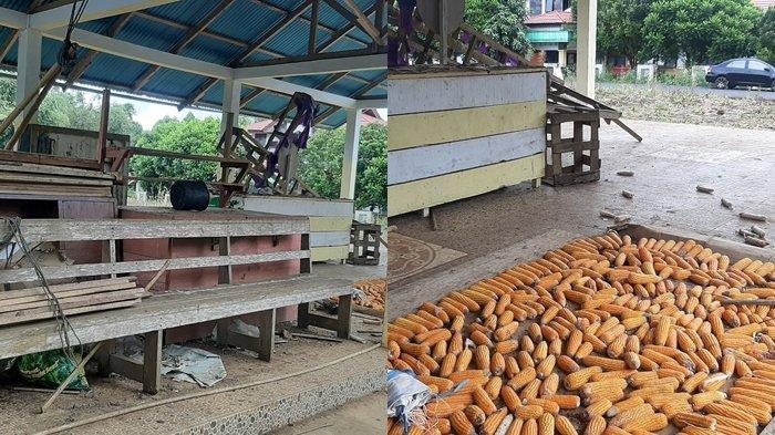 Begini Kondisi Pasar di Kelurahan Lansot Tomohon yang Diresmikan Sejak 7 November 2017