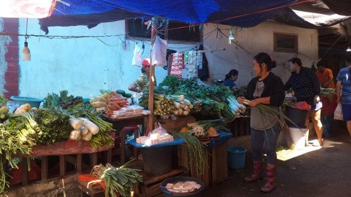Pedagang Pasar Tuminting Kota Manado Keluhkan Berkurangnya Pendapatan Pasca Digusur