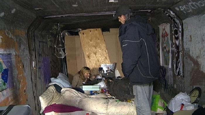 Di Balik Kemegahan Las Vegas, Ribuan Penduduk Hidup dan Tinggal di Terowongan Bawah Tanah